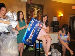 Got lots of adult gifts at my bridal shower over the summer, like this vacuum cleaner!