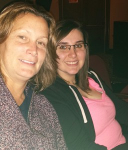 My aunt and I at the musical.