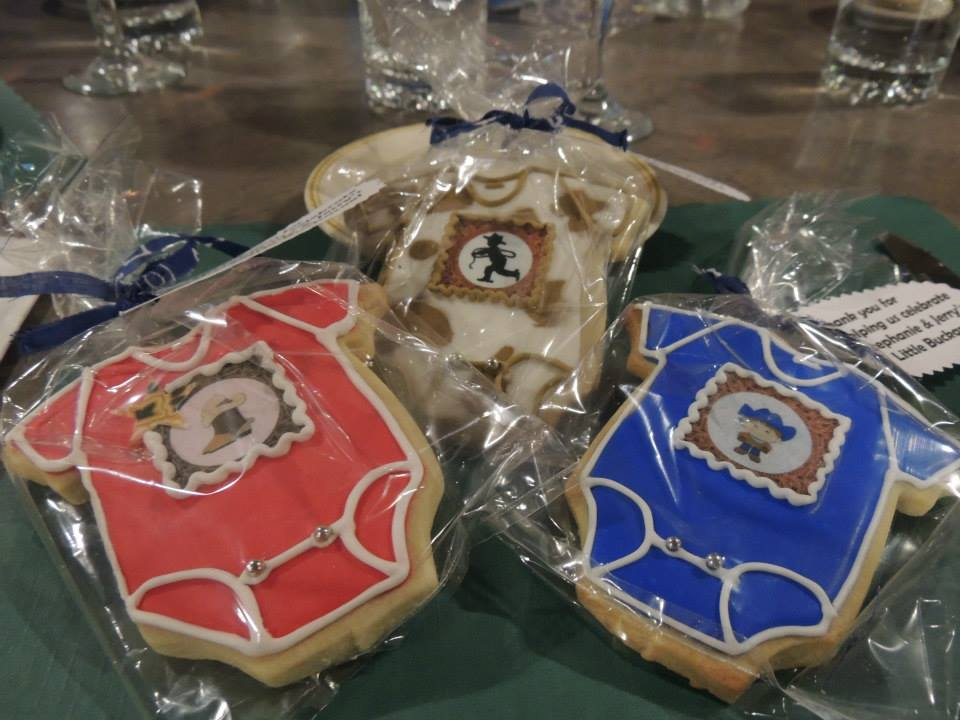 Cutest cookies ever! There were tons of cowboy designs. Loved them. Picture by Claire.