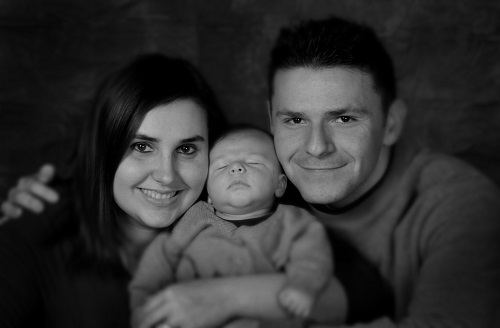 family 1 month resize